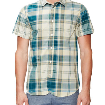 Madras Short Sleeve Sportshirt
