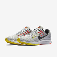 The Nike Air Zoom Structure 19 Women's Running Shoe.
