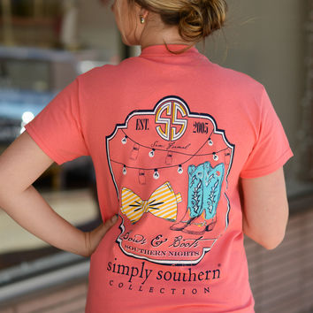 Simply Southern Boots & Bows Tee