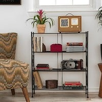 Brimfield Bookcase in Black - Urban Outfitters