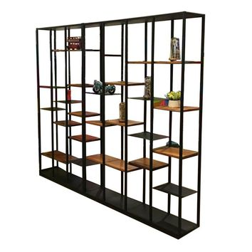 Retro Partition 82.6'' Bookcase