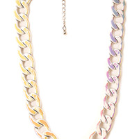Forever Flashy Chain Necklace
