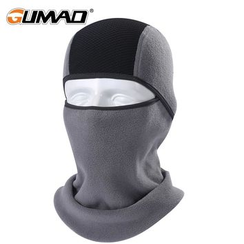 Winter Thermal Fleece Balaclava Full Face Mask Warmer Cycling Hood Liner Sports Ski Bike Bicycle Snowboard Face Shield Hat Cap