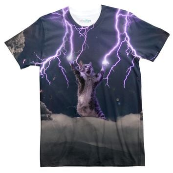 Lightning Cat T-Shirt