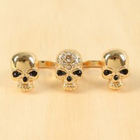 Triple Threat Ring