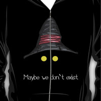 Maybe We Don't Exist - Final Fantasy IX (Vivi) Hoodie (Zipper)