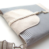 13 inch MacBook or Laptop Braid flap sleeve with by BagyBag