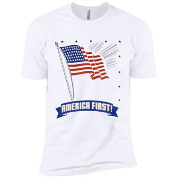 America First NL3600 Next Level Premium Short Sleeve T-Shirt
