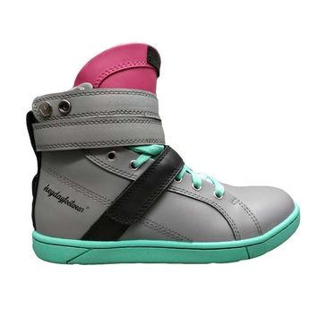 Super Shift Grey/Hot Pink/Mint Hightop Bodybuilding Sneaker