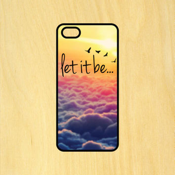 Let It Be V1 The Beatles Phone Case iPhone 4 / 4s / 5 / 5s / 5c /6 / 6s /6+ Apple Samsung Galaxy S3 / S4 / S5 / S6