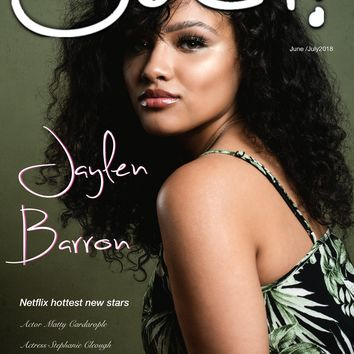 Jaylen Barron - Ouch Magazine June /July 2018