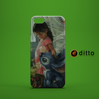LILO STITCH ART Design Custom Case by ditto! for iPhone 6 6 Plus iPhone 5 5s 5c iPhone 4 4s Samsung Galaxy s3 s4 & s5 and Note 2 3 4