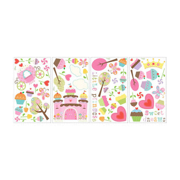 Roommates Home Indoor Room Decorative Wallpaper Sticker Happi Cupcake Land Wall Decals