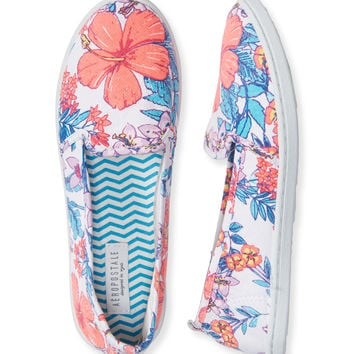 Hibiscus Slip-On Shoe