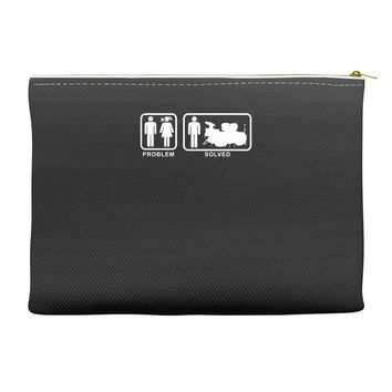 Drums - Problem Solved - Mens Funny Accessory Pouches