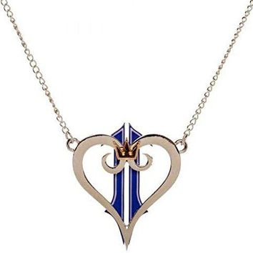 Bioworld- Necklace: Kingdom Hearts II - Logo Metal Necklace