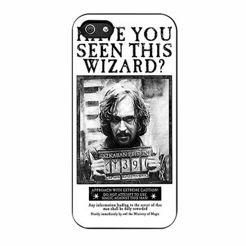 Sirius Black Wanted Poster iPhone 5/5s Case