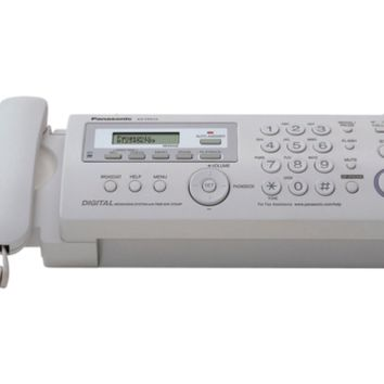 Panasonic   Compact Plain Paper Fax and Copier with Digital Answering System FREE SHIPPING
