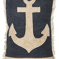 I'm The Captain Of My Soul - Anchor Decorative Throw Pillow 15-In