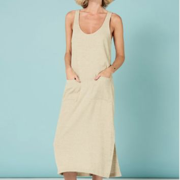 Ivy Dress Oatmeal