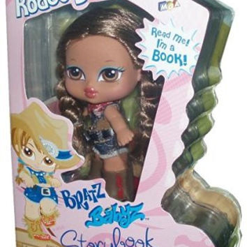 Bratz Babyz Storybook Collection 5 Inch Doll - Yasmin's Rodeo Ball with Hairbrush and Story Book