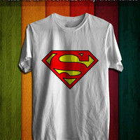 Tshirt ~ AJ Available : Superman Logo Shirt, Black & White.