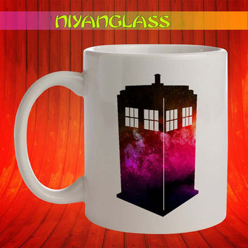 Tardis Galaxy mug, Tardis Galaxy cup, dr who mugs, doctor who  personalized cup, funny mugs, birthday ceramic mug