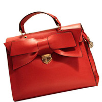 2012 New In Bowknot Detail Clasp Closure Briefcase - OASAP.com