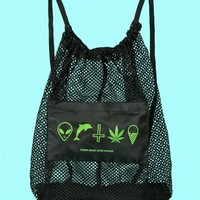 OPENING CEREMONY X SPRING BREAKERS MESH BACKPACK - WOMEN - OPENING CEREMONY X SPRING BREAKERS