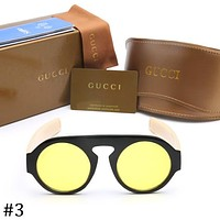 GUCCI 2018 new men and women fashion sunglasses sunglasses F-ZXJ #3