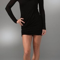 Splendid Novelty Cowl Neck Dress