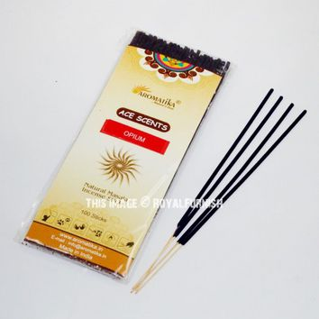 Opium Incense Sticks - Pack of 100 Sticks Wholesale on RoyalFurnish.com