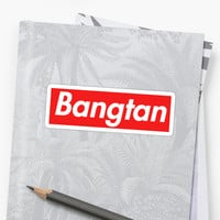 'Supreme Bangtan' Sticker by bangtanstyle
