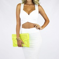 CROP TOP - WHITE