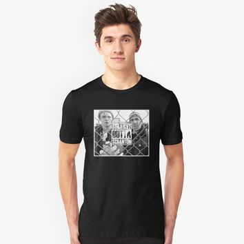 'straight outta scranton' T-Shirt by robincasey