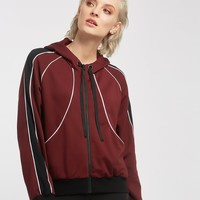 Michi Interstellar Hoodie - Wine/Black/White