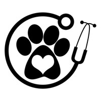 13cm*11cm Veterinarian Personality Vinyl Car-Styling Car Accessories Stickers Black/Silver S3-4753