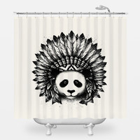 Mixed Identity Shower Curtain
