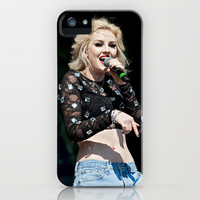 Perrie Edwards - Littlemix iPhone Case by Karl Wilson Photography