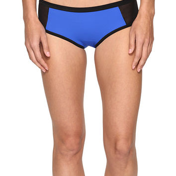 Hanky Panky Mia Hipster Bottoms Cobalt/Black - Zappos.com Free Shipping BOTH Ways