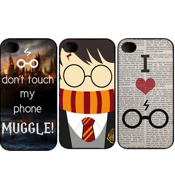 Pretty interesting Harry Potter Funny Character cell phone Cover For iPhone SE 4s 5 5s 5c 6 6S 6plus 7 7Plus Cases- Best Christmas Gift