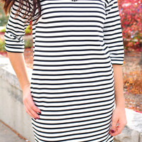 The Stripe is Right Dress