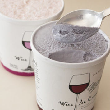 Yum: Mercer's Wine Ice Cream 5% Alco