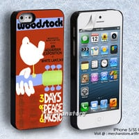 Woodstock 3 Days of Peace and Music Logo iPhone 5 or 5S Case