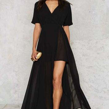 Glamorous Go Long Maxi Dress