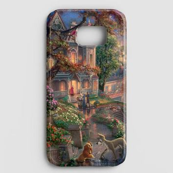 Lady And The Tramp Disney Samsung Galaxy S7 Edge Case