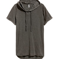 Hooded T-shirt - from H&M