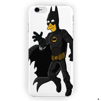 Batman The Simpsons For iPhone 6 / 6 Plus Case