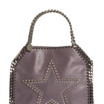 Stella McCartney 'Mini Falabella' Studded Faux Leather Star Tote | Nordstrom