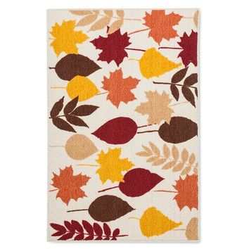 Threshold™™ Leaves Kitchen Rug 30x46""